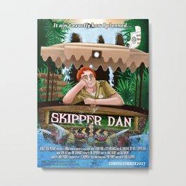 Skipper Dan Metal Print