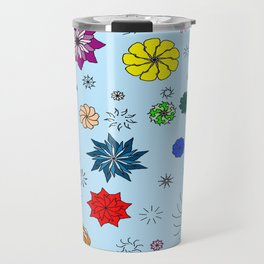 color me flaky Travel Mug