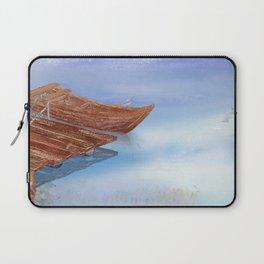 Perfect reflection of beautiful sky   Miharu Shirahata Laptop Sleeve