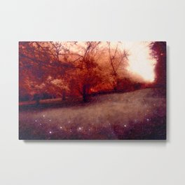 The Orchards Metal Print