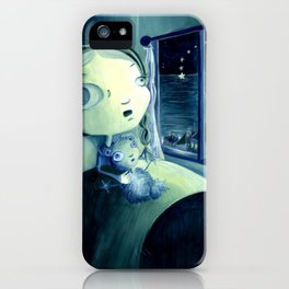 Shooting star iPhone Case