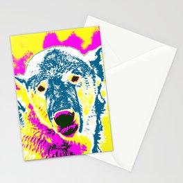 Pop Art Polar Bear 1 Stationery Cards