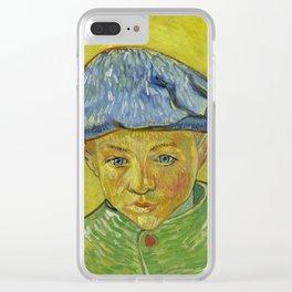 "Vincent van Gogh ""Portrait of Camille Roulin"" Clear iPhone Case"