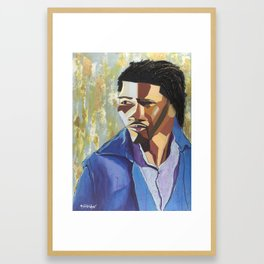 The Tribute Series-Mathew Ajibade Framed Art Print