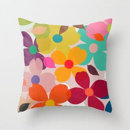 dogwood 11 Throw Pillow