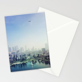MacArthur Park, Los Angeles. Autumn, 2015 Stationery Cards