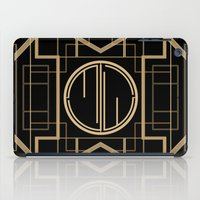 gatsby iPad Cases featuring MJW- GREAT GATSBY STYLE by MATT WARING