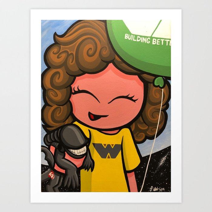 County Fair Art Print