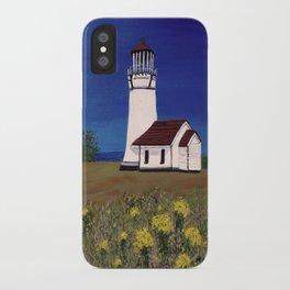 Cape Blanco lighthouse/ Oregon iPhone Case