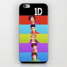 One Direction - Harry Styles, Louis Tomlinson, Niall Horan, Liam Payne & Zayn Malik iPhone & iPod Skin
