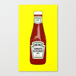 1 of 57 flavours Canvas Print