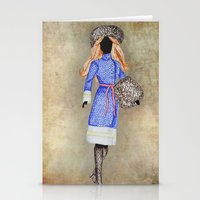 russia Stationery Cards featuring Russia by Dany Delarbre