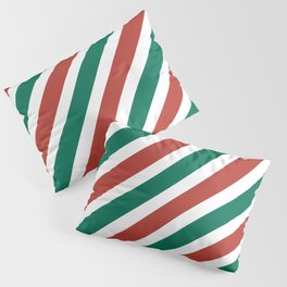 Holiday Stripes Pillow Sham