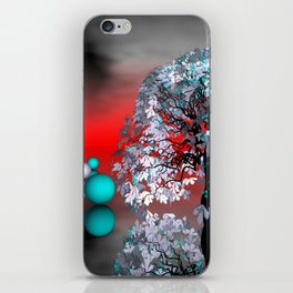 another landscape in nowhereland -2- iPhone Skin