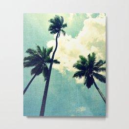 Tropical Sky Metal Print
