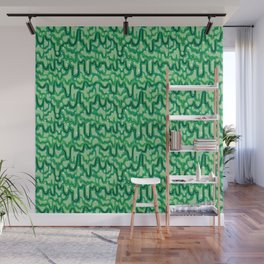 Slime Pattern (Classic Green) Wall Mural