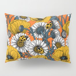 The meadow in yellow and orange Pillow Sham