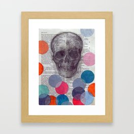 Enter Ghost Framed Art Print