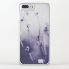 Fleeting Summer Clear iPhone Case