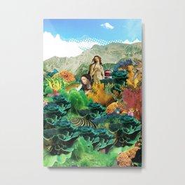 atmosphere · kiss of the future fish Metal Print