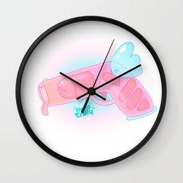 Hellorilly LoveGun Wall Clock