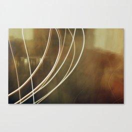 Electric Brown Canvas Print
