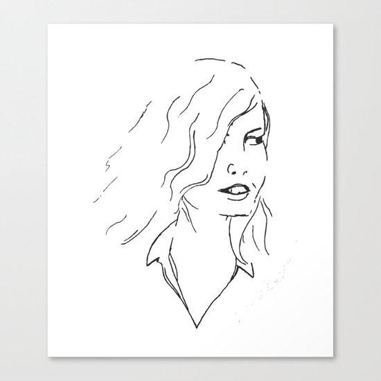 Part Ways Canvas Print