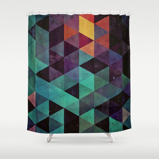 dyyp tyyl Shower Curtain