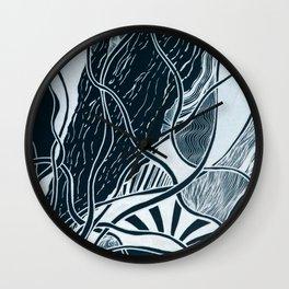 Subtle Seas Wall Clock