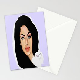 Aaliyah remembered  Stationery Cards