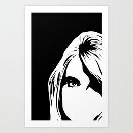 look in Art Print