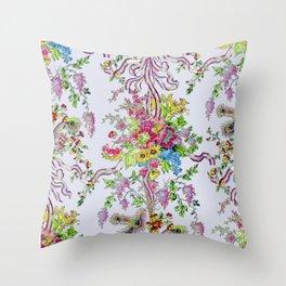 Marie Antoinette's Boudoir Throw Pillow