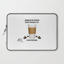 Coffee Alert Laptop Sleeve