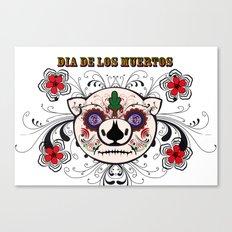 Berto: Dia de los muertos (Day of the dead) Canvas Print