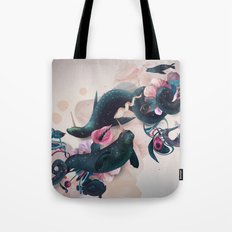 sea calf Tote Bag