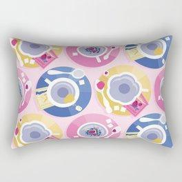Pastel Tea Party Rectangular Pillow