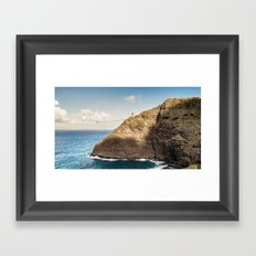 Makapuu Lighthouse Framed Art Print