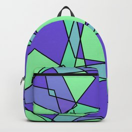 Green Modern Art Backpack