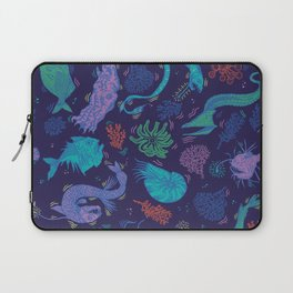 Creatures Of the Deep Sea Laptop Sleeve