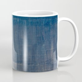 vintage blue wall Coffee Mug