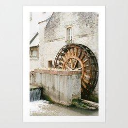 France on Film Art Print