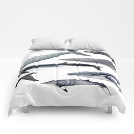 Whales and right whale Comforters