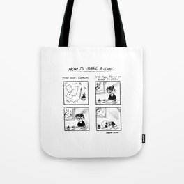 How To Make A Comic Tote Bag