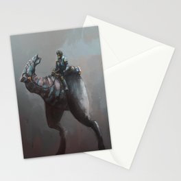 Creature rider giant legs Stationery Cards