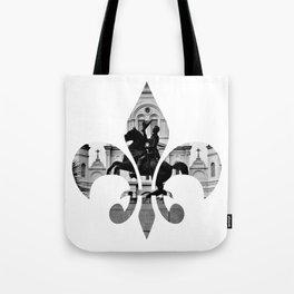 Jackson Squared - fleur de lis Tote Bag