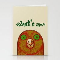 pigeon Stationery Cards featuring Pigeon by RifKhas