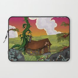 Jack and the Beanstalk Cottage in the evening Laptop Sleeve