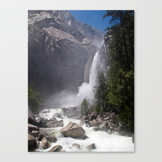 Mists of Nature Canvas Print