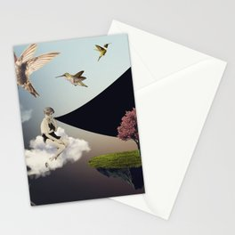 typical afternoon Stationery Cards