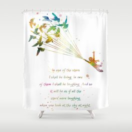 In one of the stars Shower Curtain